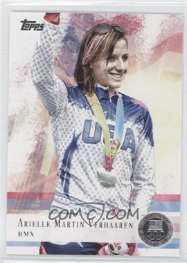 2012 Topps U.S. Olympic Team and Olympic Hopefuls Silver #67 - Arielle Martin Verhaaren