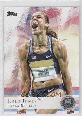 2012 Topps U.S. Olympic Team and Olympic Hopefuls Silver #70 - Lolo Jones