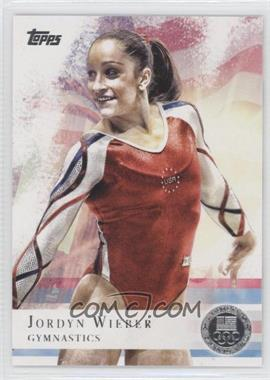 2012 Topps U.S. Olympic Team and Olympic Hopefuls Silver #78 - Jordyn Wieber