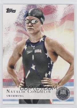 2012 Topps U.S. Olympic Team and Olympic Hopefuls Silver #9 - Natalie Coughlin