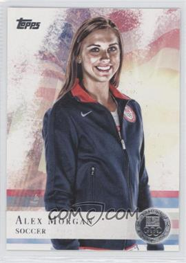 2012 Topps U.S. Olympic Team and Olympic Hopefuls Silver #90 - Alex Morgan