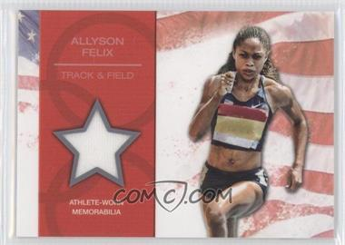 2012 Topps U.S. Olympic Team and Olympic Hopefuls U.S. Olympic Team Relic #OR-AF - Allyson Felix
