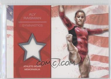 2012 Topps U.S. Olympic Team and Olympic Hopefuls U.S. Olympic Team Relic #OR-AR - Aly Raisman