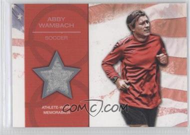 2012 Topps U.S. Olympic Team and Olympic Hopefuls U.S. Olympic Team Relic #OR-AW - Abby Wambach