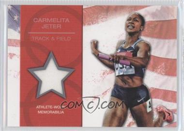 2012 Topps U.S. Olympic Team and Olympic Hopefuls U.S. Olympic Team Relic #OR-CJ - Carmelita Jeter