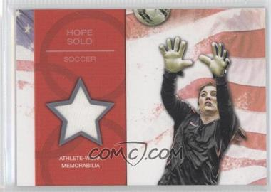 2012 Topps U.S. Olympic Team and Olympic Hopefuls U.S. Olympic Team Relic #OR-HS - Hope Solo