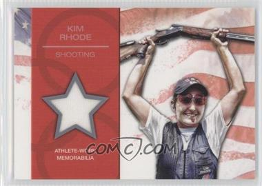 2012 Topps U.S. Olympic Team and Olympic Hopefuls U.S. Olympic Team Relic #OR-KR - Kim Rhode