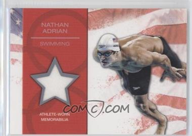 2012 Topps U.S. Olympic Team and Olympic Hopefuls U.S. Olympic Team Relic #OR-NA - [Missing]