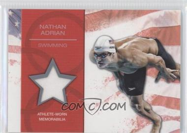 2012 Topps U.S. Olympic Team and Olympic Hopefuls U.S. Olympic Team Relic #OR-NA - Nathan Adrian