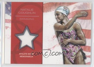 2012 Topps U.S. Olympic Team and Olympic Hopefuls U.S. Olympic Team Relic #OR-NC - Natalie Coughlin