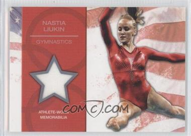 2012 Topps U.S. Olympic Team and Olympic Hopefuls U.S. Olympic Team Relic #OR-NL - Nastia Liukin