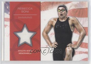 2012 Topps U.S. Olympic Team and Olympic Hopefuls U.S. Olympic Team Relic #OR-RS - Rebecca Soni