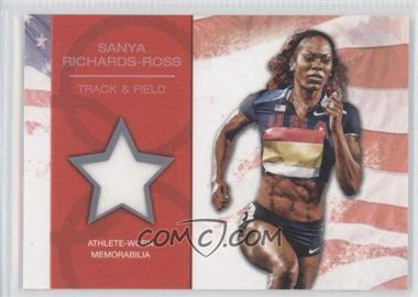 2012 Topps U.S. Olympic Team and Olympic Hopefuls U.S. Olympic Team Relic #OR-SR - Sanya Richards-Ross