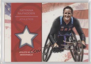 2012 Topps U.S. Olympic Team and Olympic Hopefuls U.S. Olympic Team Relic #OR-TM - Tatyana McFadden