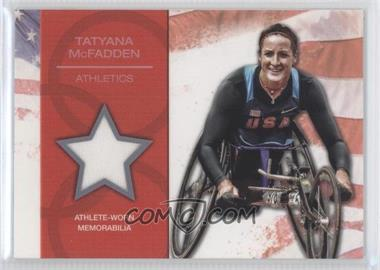 2012 Topps U.S. Olympic Team and Olympic Hopefuls U.S. Olympic Team Relic #OR-TM - Tatyana McFadden