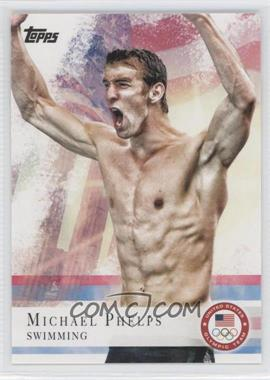 2012 Topps U.S. Olympic Team and Olympic Hopefuls #100 - Michael Phelps