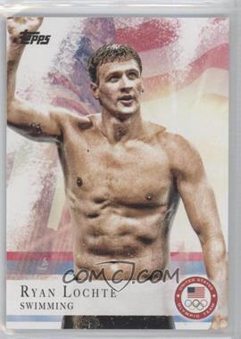 2012 Topps U.S. Olympic Team and Olympic Hopefuls #17 - Ryan Lochte