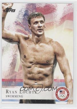 2012 Topps U.S. Olympic Team and Olympic Hopefuls #17 - Ryan Lochte