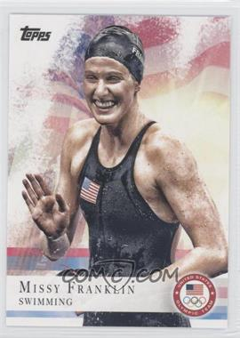 2012 Topps U.S. Olympic Team and Olympic Hopefuls #59 - Missy Franklin