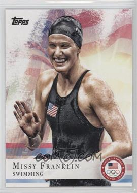 2012 Topps U.S. Olympic Team and Olympic Hopefuls #59 - Missy Franklin
