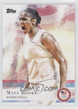 2012 Topps U.S. Olympic Team and Olympic Hopefuls #60 - Maya Moore