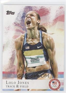 2012 Topps U.S. Olympic Team and Olympic Hopefuls #70 - Lolo Jones
