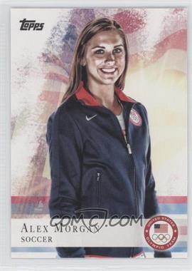 2012 Topps U.S. Olympic Team and Olympic Hopefuls #90 - Alex Morgan