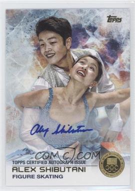 2014 Topps U.S. Olympic & Paralympic Team and Hopefuls - [Base] - Gold Autographs [Autographed] #76 - Alex Shibutani /15