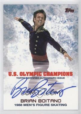 2014 Topps U.S. Olympic & Paralympic Team and Hopefuls - Olympic Champions Autographs #UOC-BBO - Brian Boitano