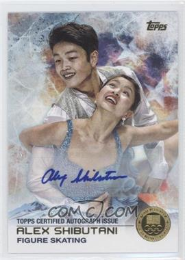 2014 Topps U.S. Olympic & Paralympic Team and Hopefuls Gold Autographs [Autographed] #76 - Alex Shibutani /15