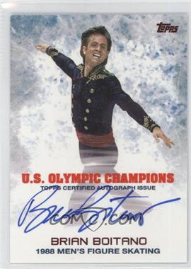 2014 Topps U.S. Olympic & Paralympic Team and Hopefuls Olympic Champions Autographs #UOC-BBO - Brian Boitano