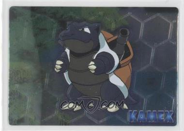 1997-2001 Pokemon Meiji Promos - [???] #NoN - Kamex (Blastoise)