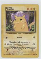 Pikachu (PokeTour1999 Stamp)