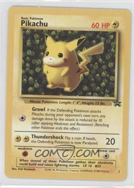 1999-2002 Pokemon Wizards of the Coast Exclusive Black Star Promos #1 - Pikachu