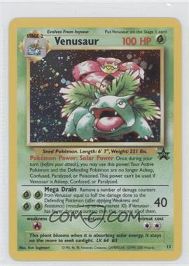 1999-2002 Pokemon Wizards of the Coast Exclusive Black Star Promos #13 - Venusaur