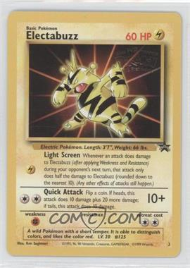 1999-2002 Pokemon Wizards of the Coast Exclusive Black Star Promos #2 - Electabuzz