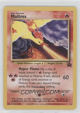 1999-2002 Pokemon Wizards of the Coast Exclusive Black Star Promos #21 - Moltres