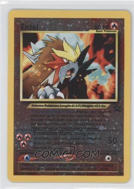 1999-2002 Pokemon Wizards of the Coast Exclusive Black Star Promos #34 - Entei
