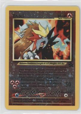 1999-2002 Pokemon Wizards of the Coast Exclusive Black Star Promos #34 - Entei
