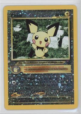 1999-2002 Pokemon Wizards of the Coast Exclusive Black Star Promos #35 - Pichu