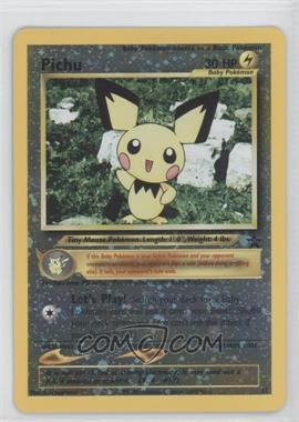 1999-2002 Pokemon Wizards of the Coast Exclusive Black Star Promos #35 - Pichu