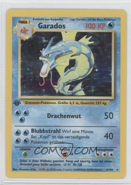 1999 Pokemon Base Set Booster Pack [Base] German 1st Edition #6 - Gyarados