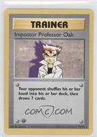 Impostor Professor Oak