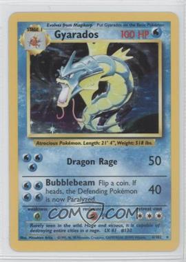 1999 Pokemon Base Set Booster Pack [Base] Unlimited #6 - Gyarados