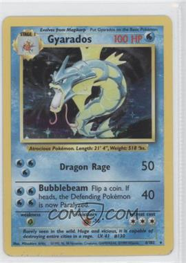 1999 Pokemon Base Set Booster Pack [Base] Unlimited #6 - Gyarados