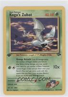 Koga's Zubat