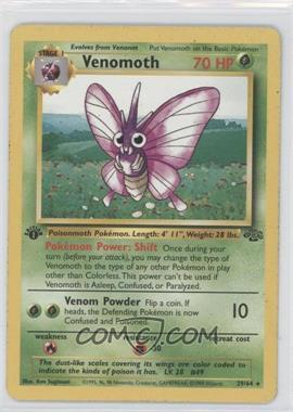 1999 Pokemon Jungle Booster Pack [Base] Unlimited #29 - Venomoth
