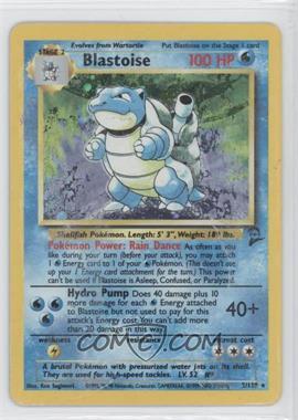 2000 Pokemon Base Set 2 Booster Pack Reprint #2 - Blastoise