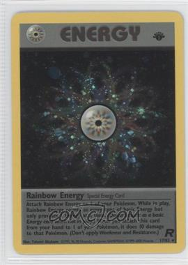 2000 Pokemon Team Rocket Booster Pack [Base] 1st Edition #17 - Rainbow Energy