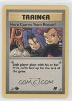 Here Comes Team Rocket!